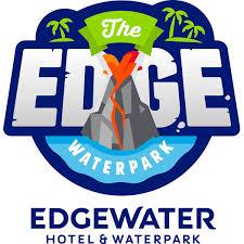Edge water water park logo