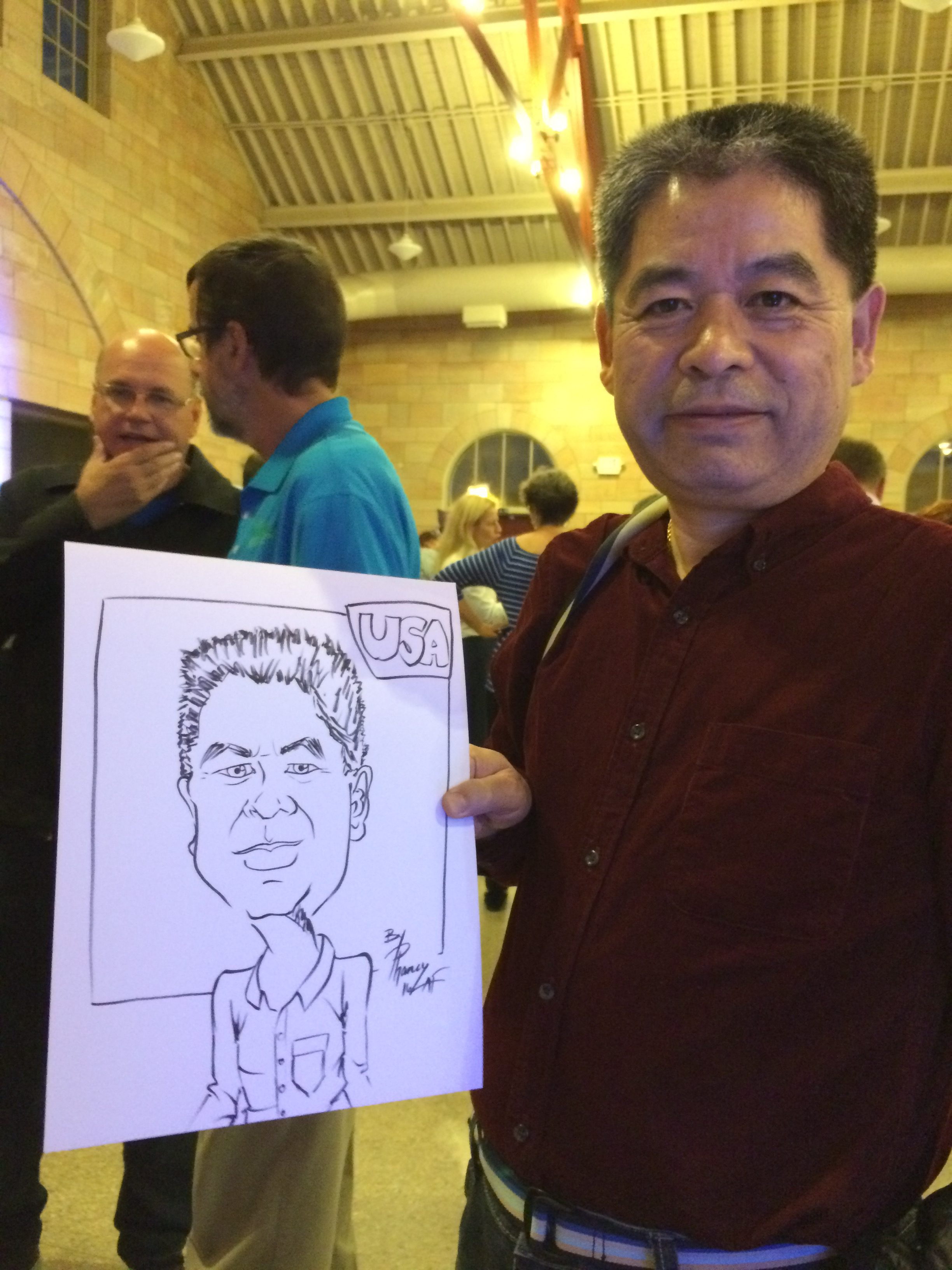 Caricatures in Blaine, MN