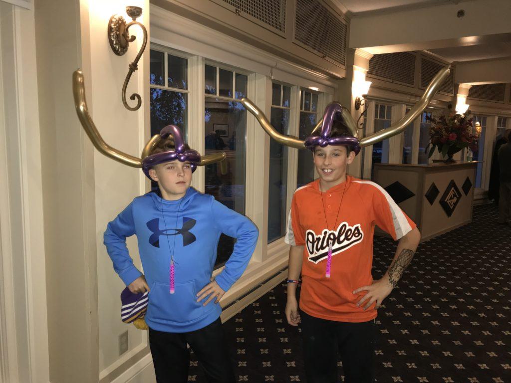 Vikings Balloon Hats Minnesota Party Entertainment