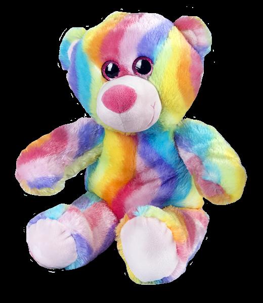 Novelty Rainbow plush Teddy Bears