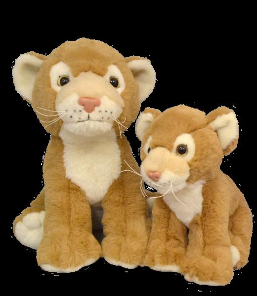 Novelty Lion Lioness Plus Bear Keepsake