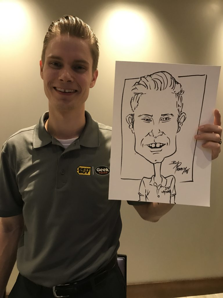 Best Buy Caricature