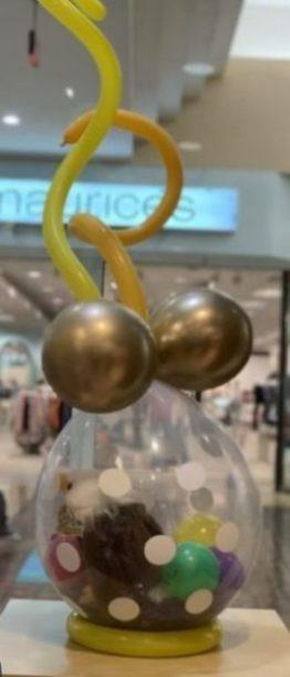 Phancy Chrome Balloon Teddy Bear Gift