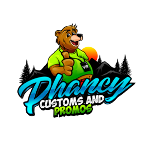Phancy Customs and Party Entertainment Bear Logo