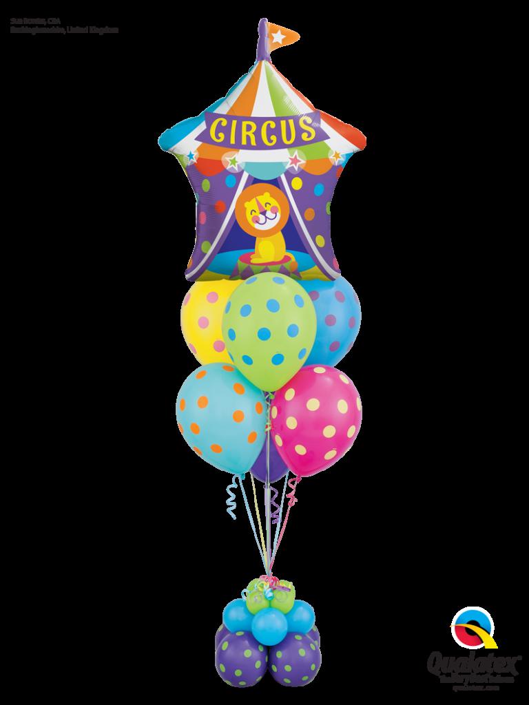 Circus Balloon Decor
