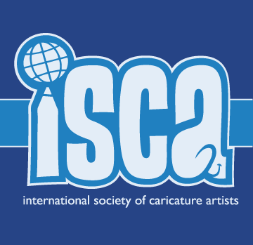International Society of Caricature Artist Logo
