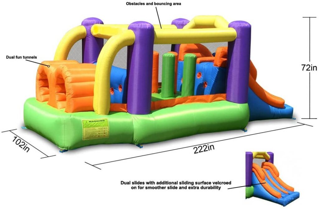 Inflatable Obstacle Course Rental MN
