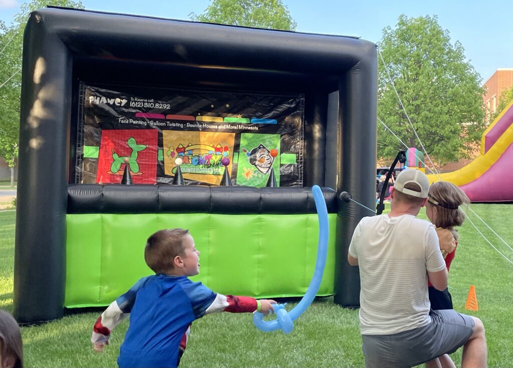 Archery Interactive Games Inflatable Minnesota (Packages)