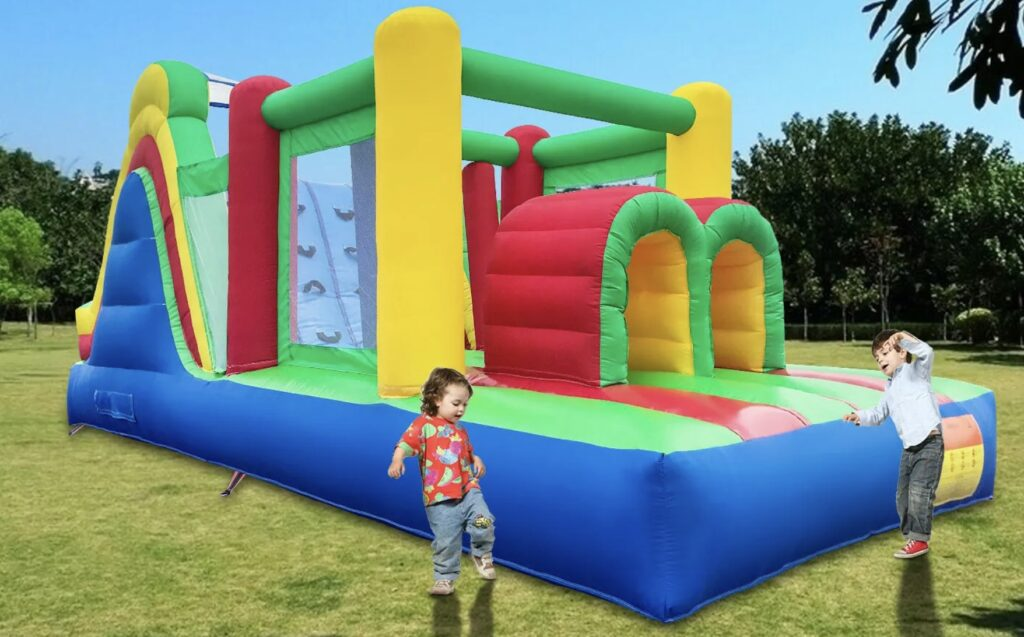 Inflatable Obstacle Coarse
