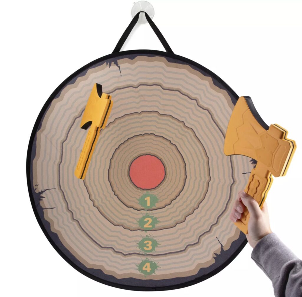 Velcro Axe Throwing Game for Rent Minnesota